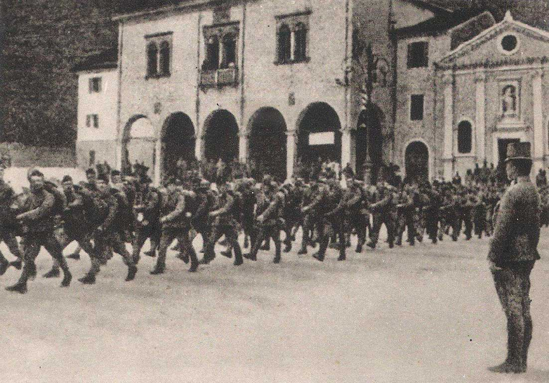 First World War Centenary. Vittorio Veneto - The First World War