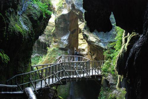 Vittorio Veneto near Grotte del Caglieron